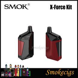 ¡Liquidación! SMOK X-Force Kit Potente Mod con batería de 2000mAh incorporada 7ML X Force Tank Dispositivo de activación de un solo botón desarrollado recientemente Origina desde fabricantes