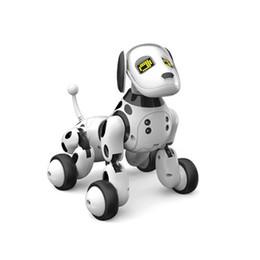 cães de brinquedo robô crianças Desconto Nova DIMEI 9007A Inteligente Robô RC Brinquedo Do Cão de Controle Remoto Cão Inteligente Crianças Brinquedos Animal Bonito Robô RC Presentes Para As Crianças de Aniversário