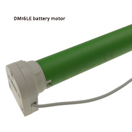 Wholesale Motor Built - free shipping motorized DM16LE chargers included, battery motor, DOOYA tubular motor for roller blinds or zebra blinds