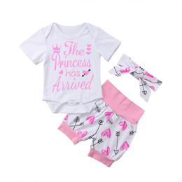 2019 gambali bodysuits 3PCS Pudcoco Toddler Neonate Ragazze Tops Leggings Outfit Set Fascia floreale Set vestiti sconti gambali bodysuits