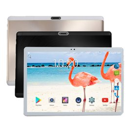 2019 super-touch-tablette Super Qualität 2.5D gehärtetes Glas 10 Zoll Tablet PC 4 GB RAM 32 GB ROM Play Store Android 7.0 4G LTE Tabletten 1280X800 Touchscreen günstig super-touch-tablette
