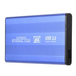"Wholesale 1tb Hard Disk - USB 3.0 HDD SSD SATA External Aluminum 2.5"" Hard Drive Disk Box Enclosure Case up to 1TB 2.5"" SATA external case"