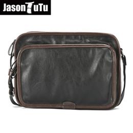 93dbd2b1c JASON TUTU Brand design Men bag Good quality PU leather Crossbody Shoulder Bags  Men Messenger Bags Male Travel Purse B477