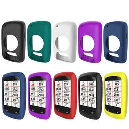 2019 радиационный наклейка телефона 10 Цветов Велосипедов Компьютерные Аксессуары Защитный Чехол Силиконовая Резина Чехол для Garmin Edge 800/810 Велоспорт Компьютер