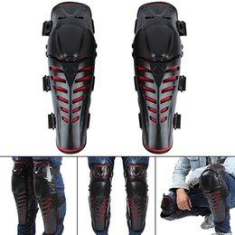 Accesorios de rodilla online-Motorcycle Riding Knee Protector Moto Racing ATV Knee Elbows Pads Guards Set Deportes al aire libre Accesorios de Engranaje de Protección GGA164
