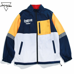 36508ca1a92a2 Aelfric Eden Vintage Pocket Color Patchwork Gothic Jacket Men 2018 Autumn  Winter Casual Jackets Coats Hip Hop Streetwear Mt14