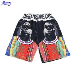 Wholesale Free People Summer - Wholesale-New Summer Men Short Pants Hip-hop 3D Design Black people Print High Guality Shorts size M-XXL 005