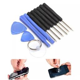 separador de tela para celular Desconto 11 em 1 chave de fenda Kits de ferramentas de telefone celular Repair Tool Set para o telefone Samsung HTC Sony Motorola LG livre DHL