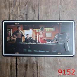 dipinti scimmia Sconti 30 * 15cm Pet dipinti di ferro Retro bar Decorazione Flamingo Owl Tin Poster Lovely Monkey Dogs Gatto Tin Sign Tide 3 99ld cc