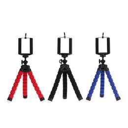 2019 штативы Штативы для камеры сотовый телефон мобильный держатель клип смартфоны монопод рубец стенд осьминог 3 цвета доступны