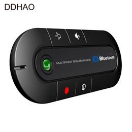 Multipoint Speakerphone 4.1 + EDR Беспроводной Bluetooth Handsfree автомобильный комплект MP3 музыкальный плеер для смартфонов IPhone Android телефоны от Поставщики наушники sony bluetooth