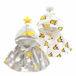 Baby Mantel Herbst Winter Korallen Samt Mädchen Schal Prinzessin Kostüm Tragen Neugeborenen Verdicken Mantel Jacke Infant Outwear Baby Cape von Fabrikanten