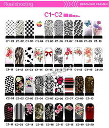 Wholesale Flower Water Decals - ransfer foils sticker ( Promotion) Hundreds Designs Art Water Decals 100sheets DIY Flowers Cartoons Nail Accessories Nail Transfer Foils...