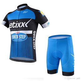 Wholesale-2017 etixx quick step cycling clothes men s clothing sets sleeve bicycle  jerseys Bike shorts bib quick step D0602 94e503349
