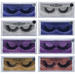 Wholesale Thick Synthetic False Eyelashes - 15 Styles 3D Mink Lashes Thick Mink Hair False Eyelashes Natural for Beauty Makeup Extension Fake Eyelashes False Lashes CCA8503 200pcs