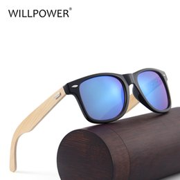 таможенные брокеры Скидка Сила воли мужчины бамбуковые солнцезащитные очки деревянные солнцезащитные очки Женщины бренд дизайнер зеркало объектив логотип солнцезащитные очки