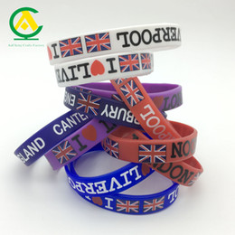 Wholesale Men Slapping Women - new custom silicone wristband bracelets fashion design gifts silicon holder case sticker rubber slap buttle colorful gifts for women man kid
