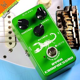 Wholesale Joyo Effects Pedals - JOYO Dynamic Compressor Guitar Effects Pedal reduce the redundant dynamic ensure balanced Performance true bypass free shipping