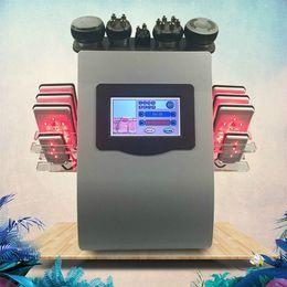 Canada Indolore 8 protections Diode Lipo Laser LLLT cavitation ultrasonique de 40K amincissant la machine de perte de poids de cellulites de rf cheap cavitation pads Offre