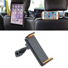 suporte de apoio para a cabeça universal Desconto Universal 360 Graus de Rotação Do Carro Encosto de Cabeça Do Assento de Encosto de Cabeça Suporte para iPhone ipad GPS Samsung LG Tablet 4-10 Polegada