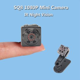 Wholesale Infrared Motion Sensor Mini - SQ11 Old Version SQ8 Mini Camera Infrared Night Vision Motion Sensor Micro Camera Digital Video Camcorder Mini Cam Espia