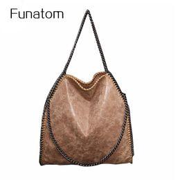 Wholesale Big Messenger Bags - Nubuck Leather Bag For Women Portable Chain Woven Messenger Shoulder Bags Bolsa Feminina Lady Big Tote Bags Stella Handbags