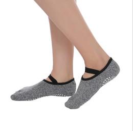 Calze Yoga Unisex di alta qualità Quick-Dry Anti-slip Damping Bandage Calze da ballo Pilates Good Grip Cotton Sock da pattini di paintball fornitori