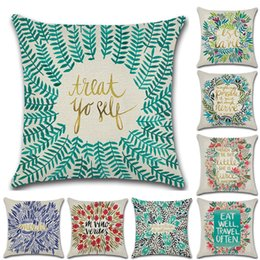 b5c4d159f2d 8 Designs Flower Wreath 45 45cm Household Linen Cushion Covers Bedroom Set  Christmas Gifts Home Decor Party Decoration cushion cover flower designs on  sale