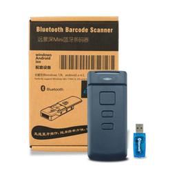caixa de 16 bits Desconto Atacado-Mini portátil CT30 5Mil 1D Bluetooth Laser Barcode Scanner sem fio 10.000 off-line de poupança para Windows / Android / IOS