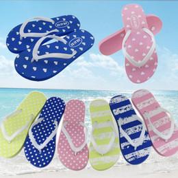 c3a54cef959d4 2019 anti chinelo Mulheres Sapatos de praia Sapatos de amor de coração  Summer EVA Stripe Anti