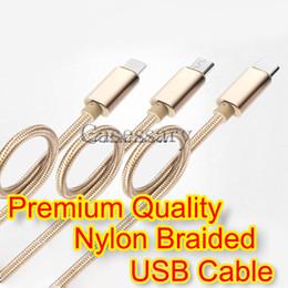 2019 sony mobile audio Cables de cobre trenzados de nylon de alta calidad de 3 metros Cables de carga y sincronización USB Capacidad de carga rápida.