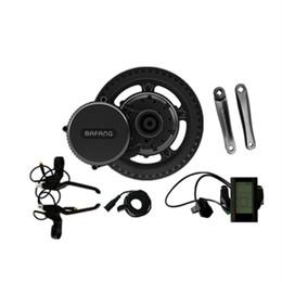 Kit de motor mediados de bicicleta eléctrica online-2018 nuevo Bafang BBS02B 48V 750W Ebike Motor con pantalla LCD 8fun / bafang mediados de unidad de bicicletas eléctricas kits de conversión