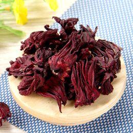 Chá de roselle seco Sopa de sangue vermelho Muito azedo Rosella coloração vermelha brilhante para a bebida de