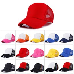 728f72f5752 24 Colors Adult Trucker cap Adjustable Baseball Caps Hat Casquette Snapback  Designer Hats Dad Hat Fitted Hats Women Mens Hats