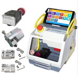 100% Original Auto Locksmith Tool SEC-E9 CNC Key Cutting Machine Multi 4 Clamp Language Version DHL Free Shipping