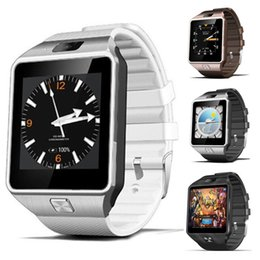 Wholesale Android Watch 3g - QW09 Android 3g Smart Watch Wifi Bluetooth 4.0 MTK6572 Dual Core 512MB RAM 4GB ROM Pedometer 3G Smartwatch Phone High Quality