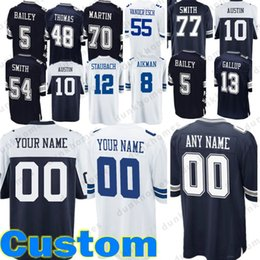 Custom Jerseys 12 Roger Staubach 8 Troy Aikman 5 Dan Bailey 54 Jaylon Smith  13 Michael Gallup 70 Zack Martin 10 Ryan Switzer 5f31ac62a