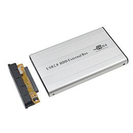 TISHRIC Contenedor externo IDE USB 2.0 para disco duro Adaptador HDD Box para disco 2.5 '500GB 1TB SSD DVD Optibay desde fabricantes