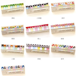 Wholesale Free Music Stickers - DIY Mini Cute Kawaii Cartoon Animal Memo pad Cat Panda Music Post It Note Paper Stickers Korean Stationery Free shipping