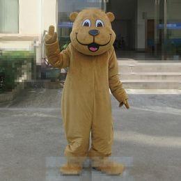 2019 traje de urso tamanho completo Tamanho adulto Dos Desenhos Animados Urso Mascot Costume Halloween Natal Masculino Urso Sorriso Carnaval Vestido Adereços Corpo Inteiro Outfit Mascote desconto traje de urso tamanho completo