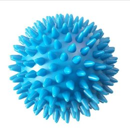 Pied de circulation sanguine en Ligne-Yoga Point Massage Ball Spiky Massage Balle Soulagement du Stress Pied Bras Cou Cou Massage Corporel Trigger Rouleau Aide Boules de Circulation Sanglante