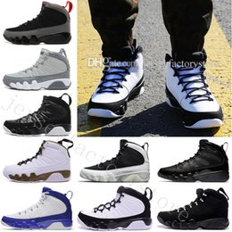 Wholesale Gloves Cream - 2018 Cheap NEW 9 MENS Basketball Shoes PINNACLE PACK BASEBALL GLOVE BLACK Brown 9s Discount Men Basketball Sneaker Boots High Quality 40-47