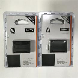 Bateria sony np on-line-2 pçs / lote NP-FW50 NP FW50 Bateria Recarregável para Sony NEX-7 NEX-5R NEX-F3 NEX-3D Alfa a5000 a6000 Alfa 7 a7II frete grátis