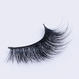 Wholesale Silk Strips - 1pair arrival 100% really 3D false eyelash lovely silk eye lashes for beautiful Super Soft Lashes Private Label Eyela
