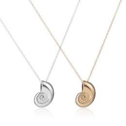 Deutschland Neue Gold Ariel Voice Shell Halsketten für Frauen cheap voice gold Versorgung