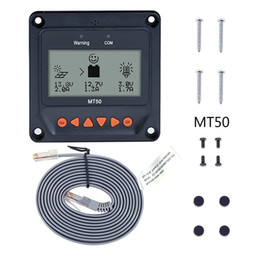 Wholesale mppt solar charge controllers - Remote Meter MT50 LCD Display for EPever MPPT Solar Charge Controller LSxxxxb VSxxxxb tracer-A TracerXXXXb