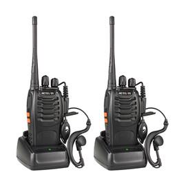Talkie-walkie 3W UHF 400-470MHz Fréquence Portable Radio Set Radio Ham Émetteur Hf Radio Pratique bidirectionnelle ? partir de fabricateur
