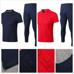 1439e81a03a france football jersey 2019 - 2018 World Cup Polo Franc Polo Black Blue Soccer  Jersey 2018