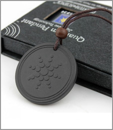 Wholesale energy plant - Quantum Pendant Energy Necklace For Anti EMF Radiation Protection PENDANT Reverse Aging.Joint Pain.Blood Circulation 2000 Negative Ions