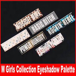 Wholesale Makeup Basics - NEW makeup palettes Girls Collection Basic Bitch Power Hungry rockin rebel 9 color eyeshadow palette makeup palettes DHL Free shipping